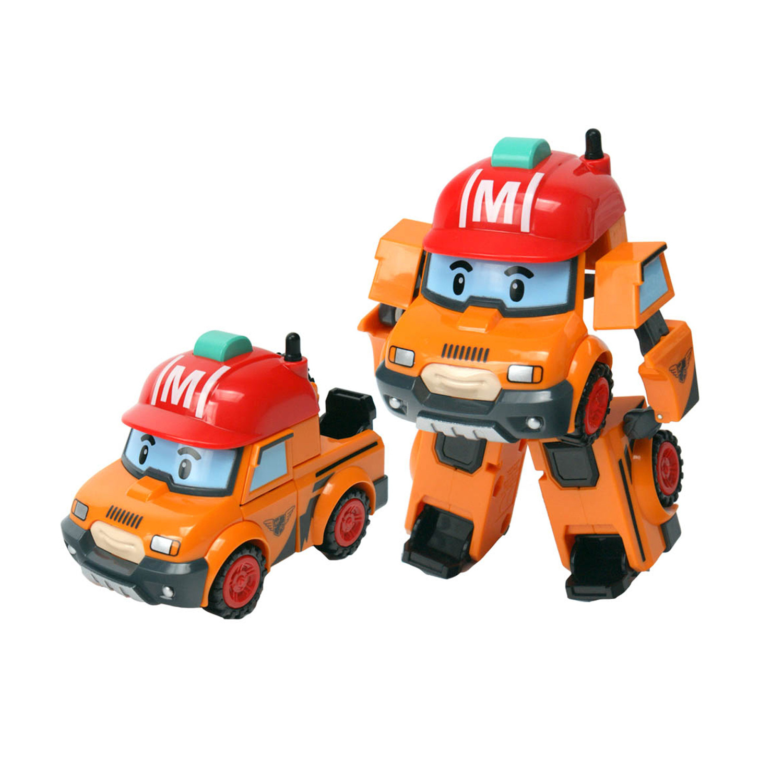 Véhicule Transformable Robocar Poli : Mark intérieur Chanson Robocar Poli