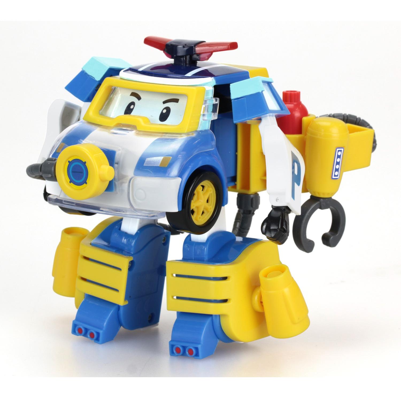 Véhicule Transformable Robocar Poli : Poli Plongeur dedans Chanson Robocar Poli