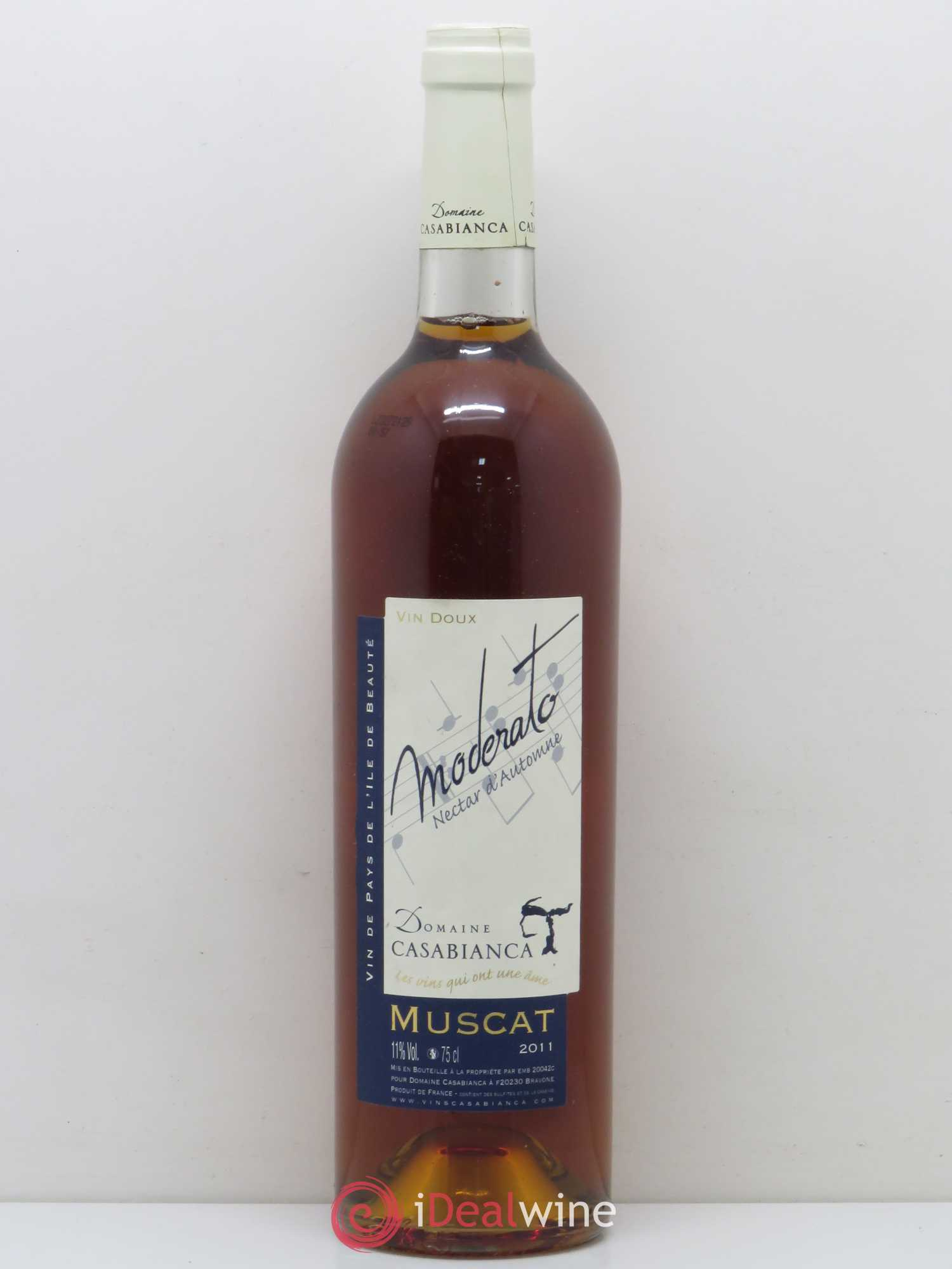 Vin De Corse Muscat Moderato Nectar D'automne Casabianca (Sans Prix De  Réserve) 2011 destiné Caractéristiques De L Automne