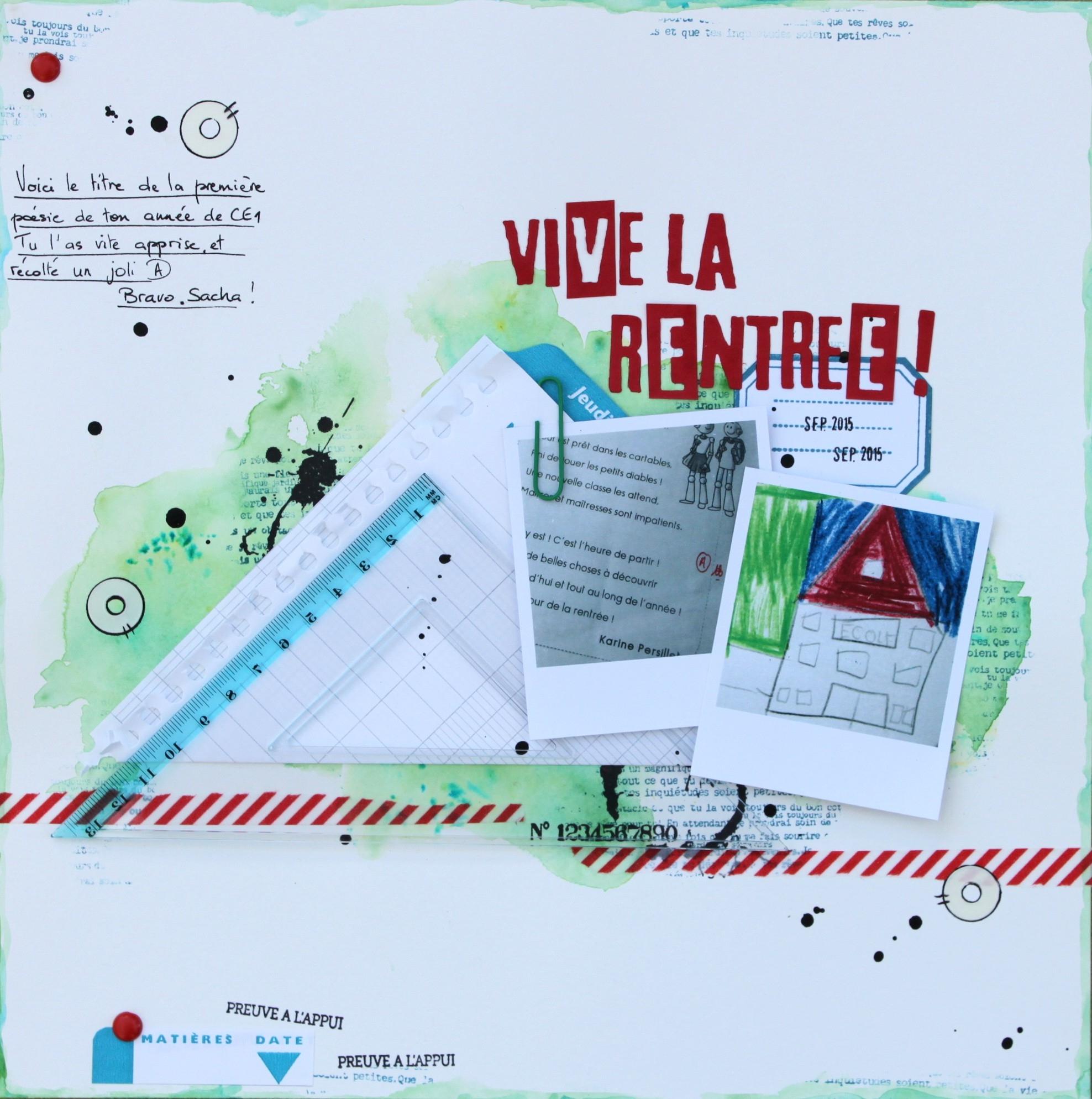 Vive La Rentrée ! - Le Blog De Rosarden destiné Poésie Vive Les Vacances