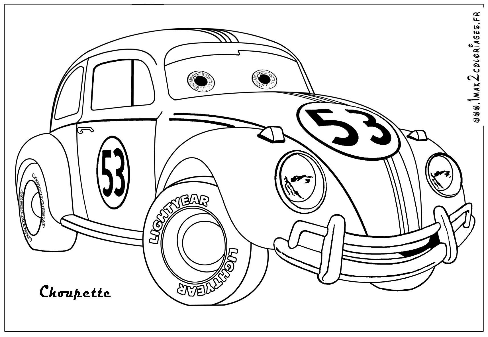 Voiture / Automobile #11 (Transport) – Coloriages À Imprimer pour Coloriage Vehicule