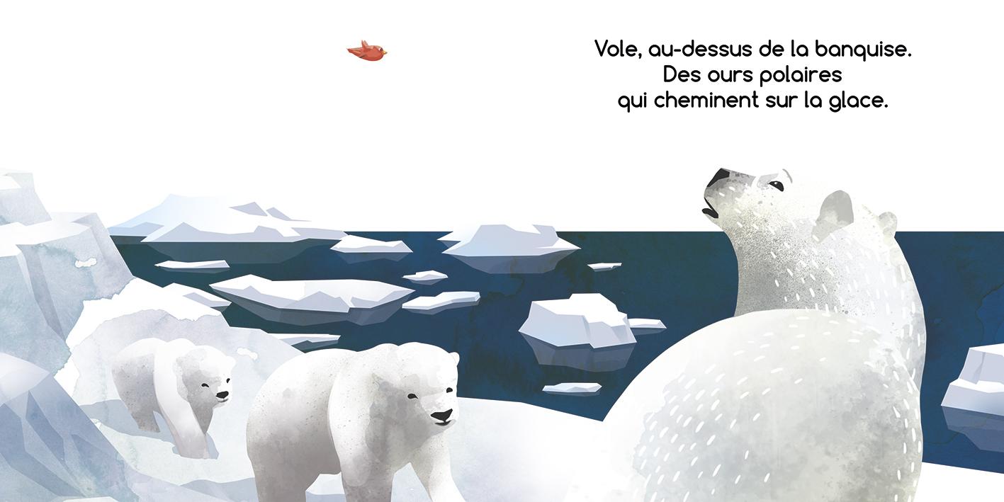 Vole, Petit Oiseau! - Romain Lubière Illustration dedans Vol Petit Oiseau