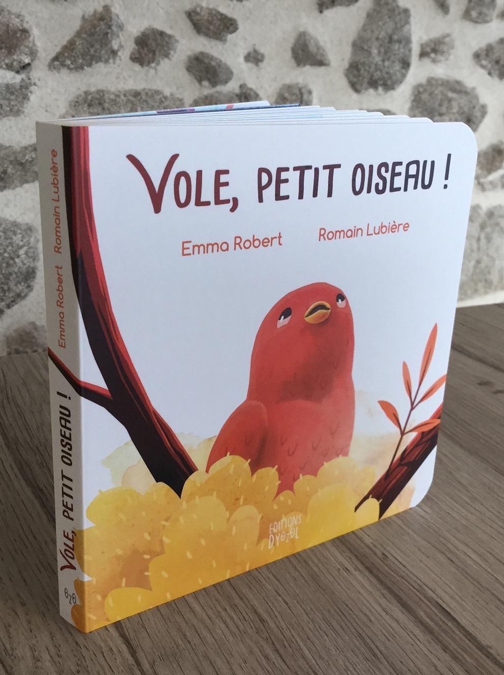 Vole, Petit Oiseau ! - Romain Lubière Illustration encequiconcerne Vol Petit Oiseau