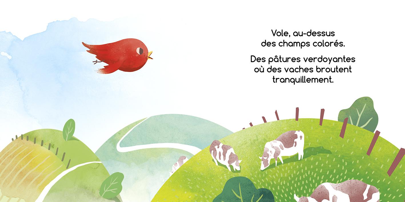 Vole, Petit Oiseau! - Romain Lubière Illustration encequiconcerne Vol Petit Oiseau