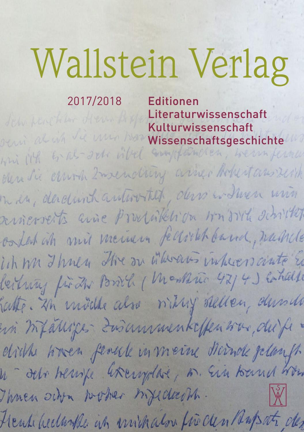 Wallstein Wissenschaft 2017/18 By Wallstein Verlag - Issuu pour A 7 Ans Anne Sylvestre