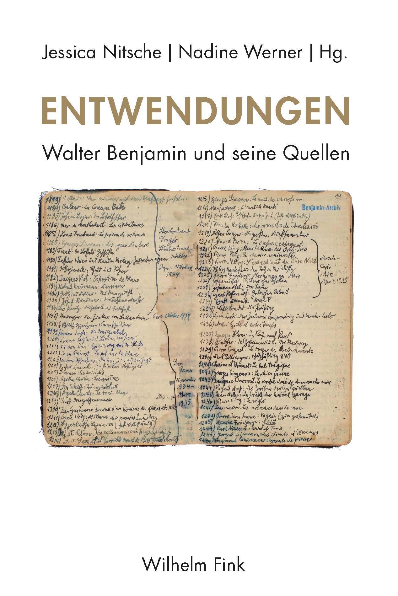 Walter Benjamin In: Entwendungen concernant Poeme Voeux Nouvel An