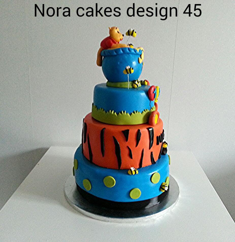 Wedding Cake Winni L'ourson ! - Nora Cakes Design 45 avec Gateau Anniversaire Winnie L Ourson