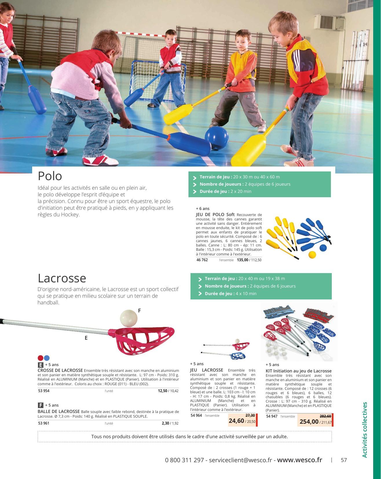 Wesco - Tout L'équipement Sportif Pour Les 3-12 Ans concernant Jeux Sportifs 6 12 Ans