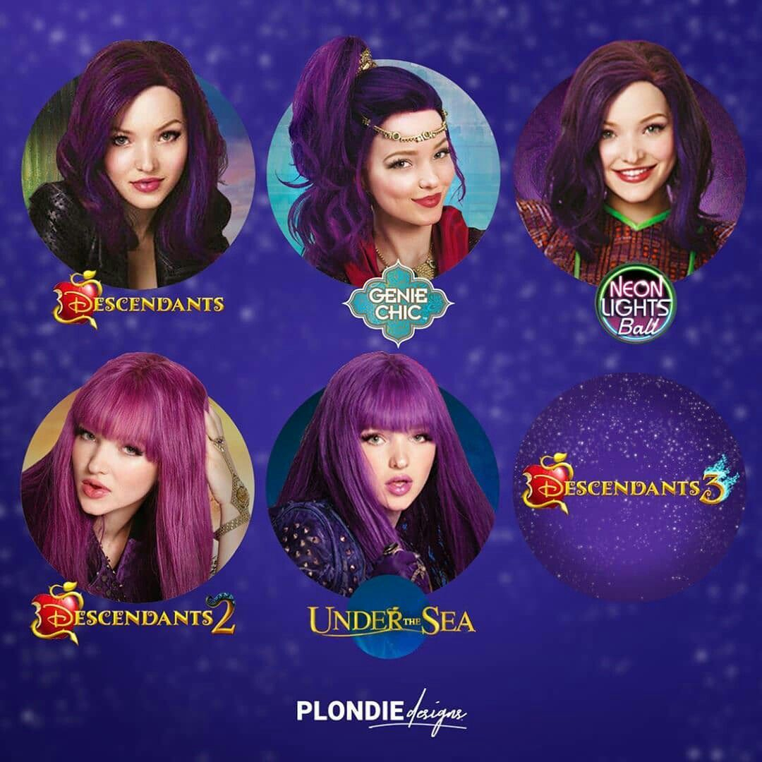 Which Mal Is Your Favourite? Mine Is The Under The Sea One avec Descendants Personnages