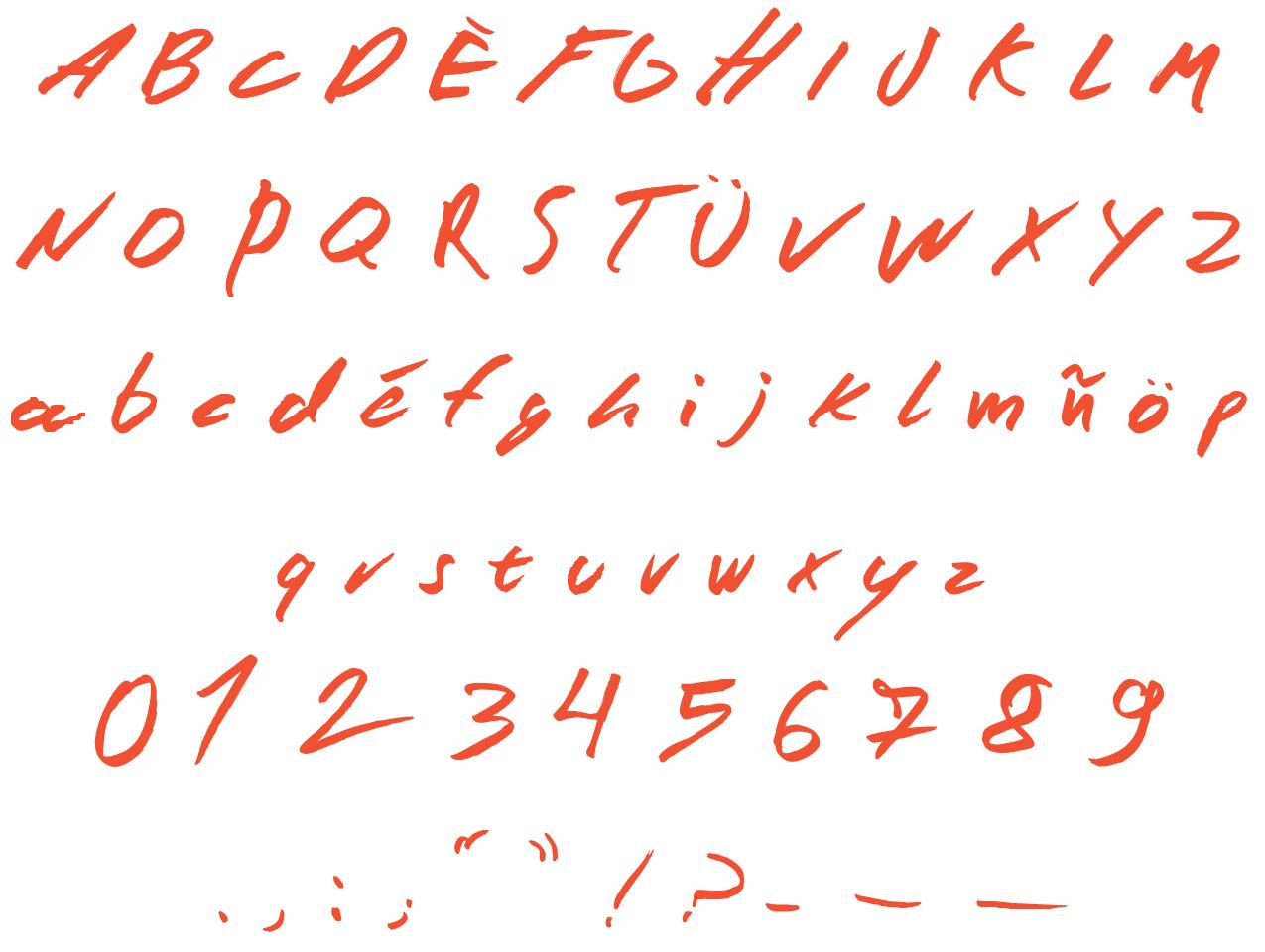 Wild Script « Mário Vinícius – Graphic & Type Designer concernant Police Script Ecole