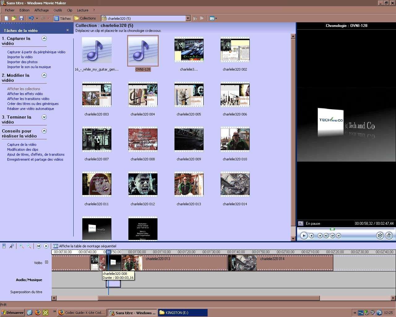 Windows Movie Maker : Mettre Un Fond Sonore Dans Un Montage serapportantà Effet Sonore Gratuit