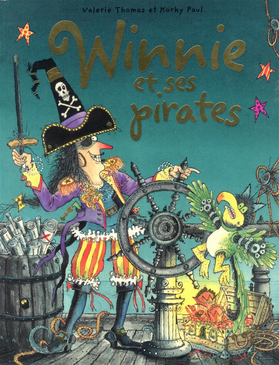 Winnie Et Ses Pirates Par Valérie Thomas, Korky Paul destiné Pelagie La Sorciere