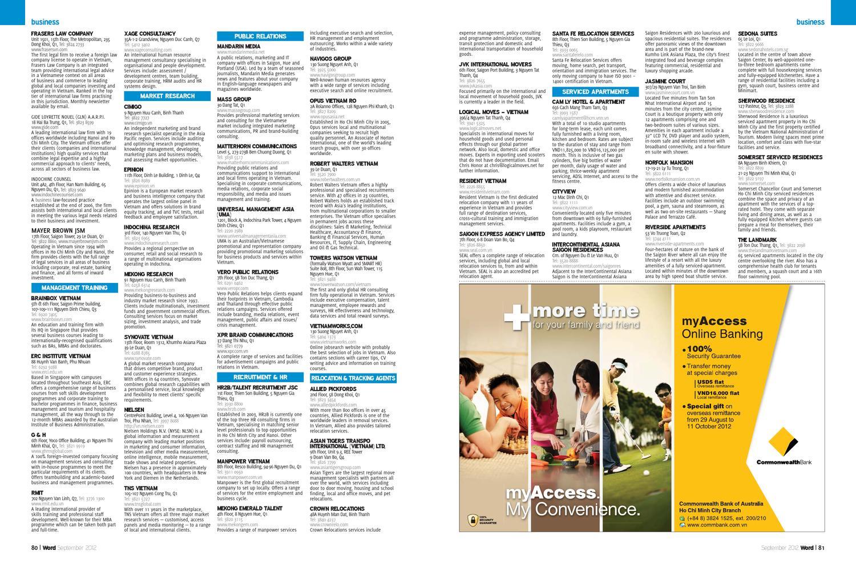 Word Ho Chi Minh City September 2012 | Vebuka à Bo Programmes 2012