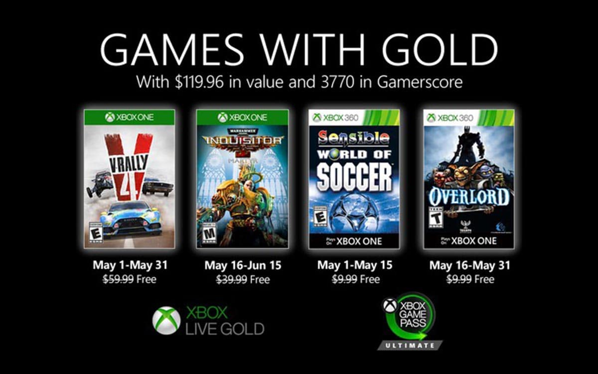 Xbox Games With Gold : Les Jeux Gratuits De Mai 2020 serapportantà Jeux De Puissance 4 Gratuit
