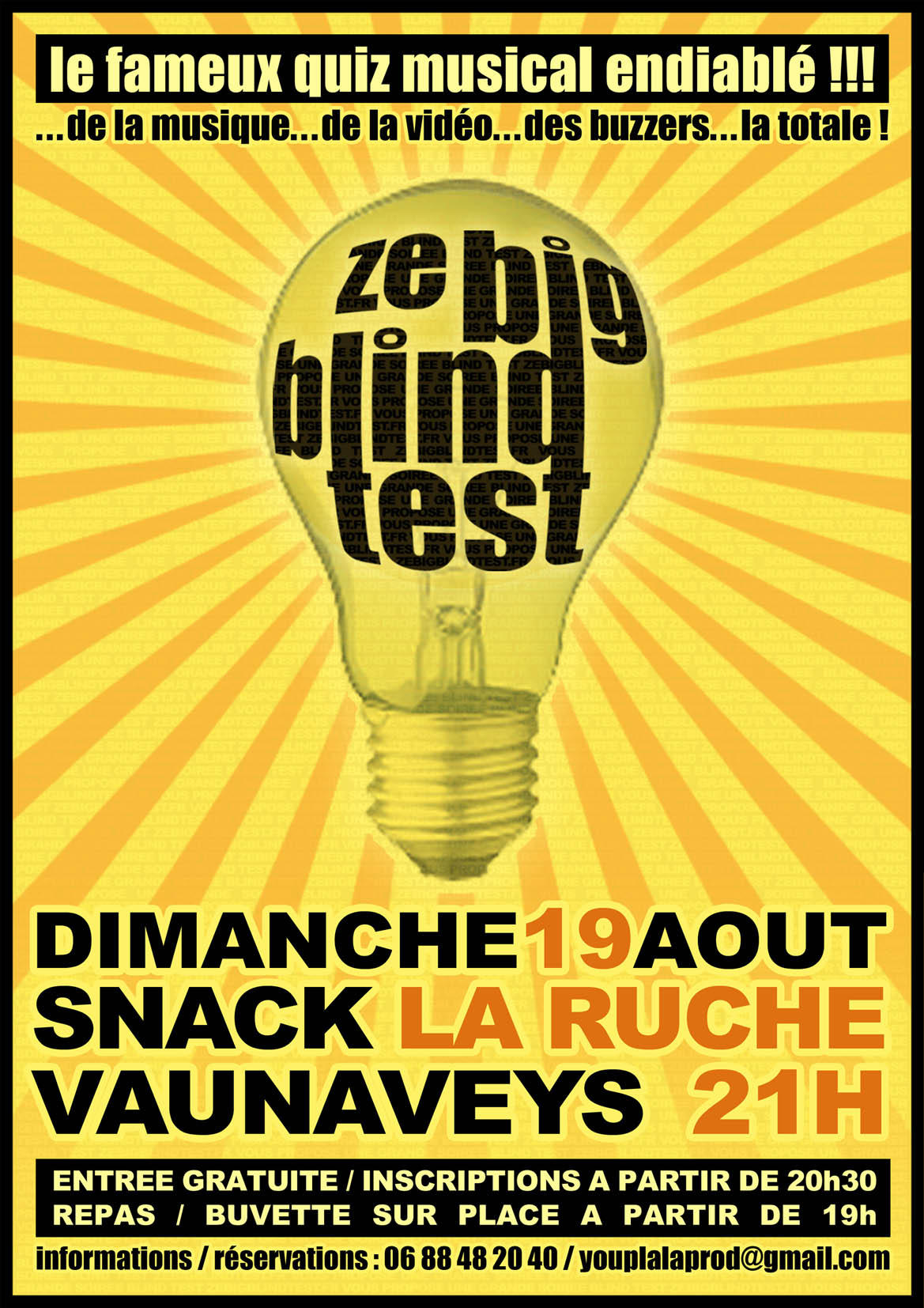 Ze Big Blind Test La Soirée De Jeu Musical concernant Quiz Musical En Ligne