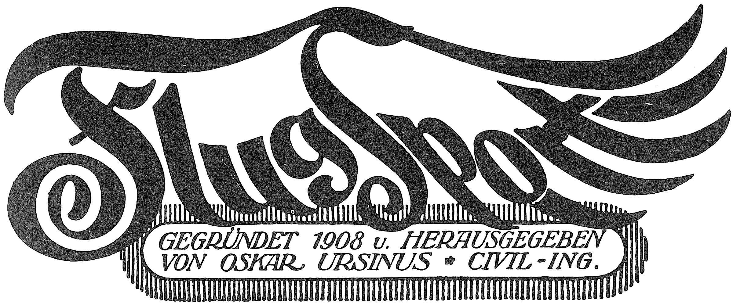 Zeitschrift Flugsport 1912: Motorflug - Gleitflug dedans A 7 Ans Anne Sylvestre