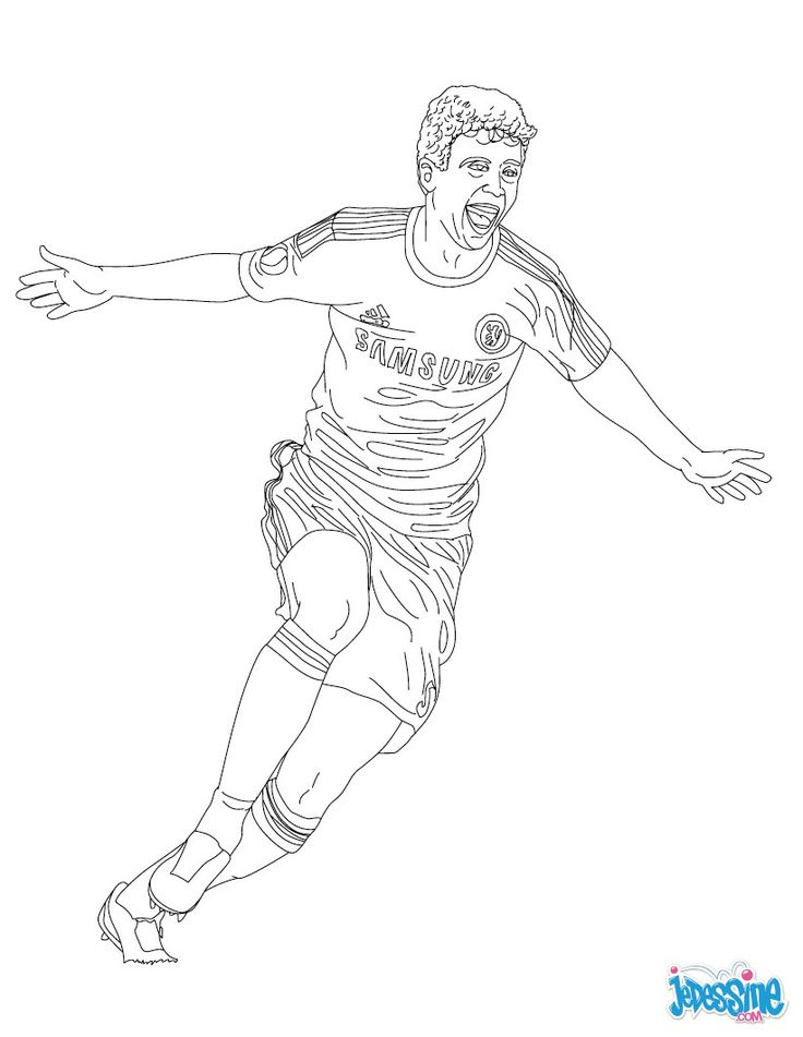 69 Best Coloriages Football Images On Pinterest | Coloring serapportantà Dessin De Foot A Imprimer