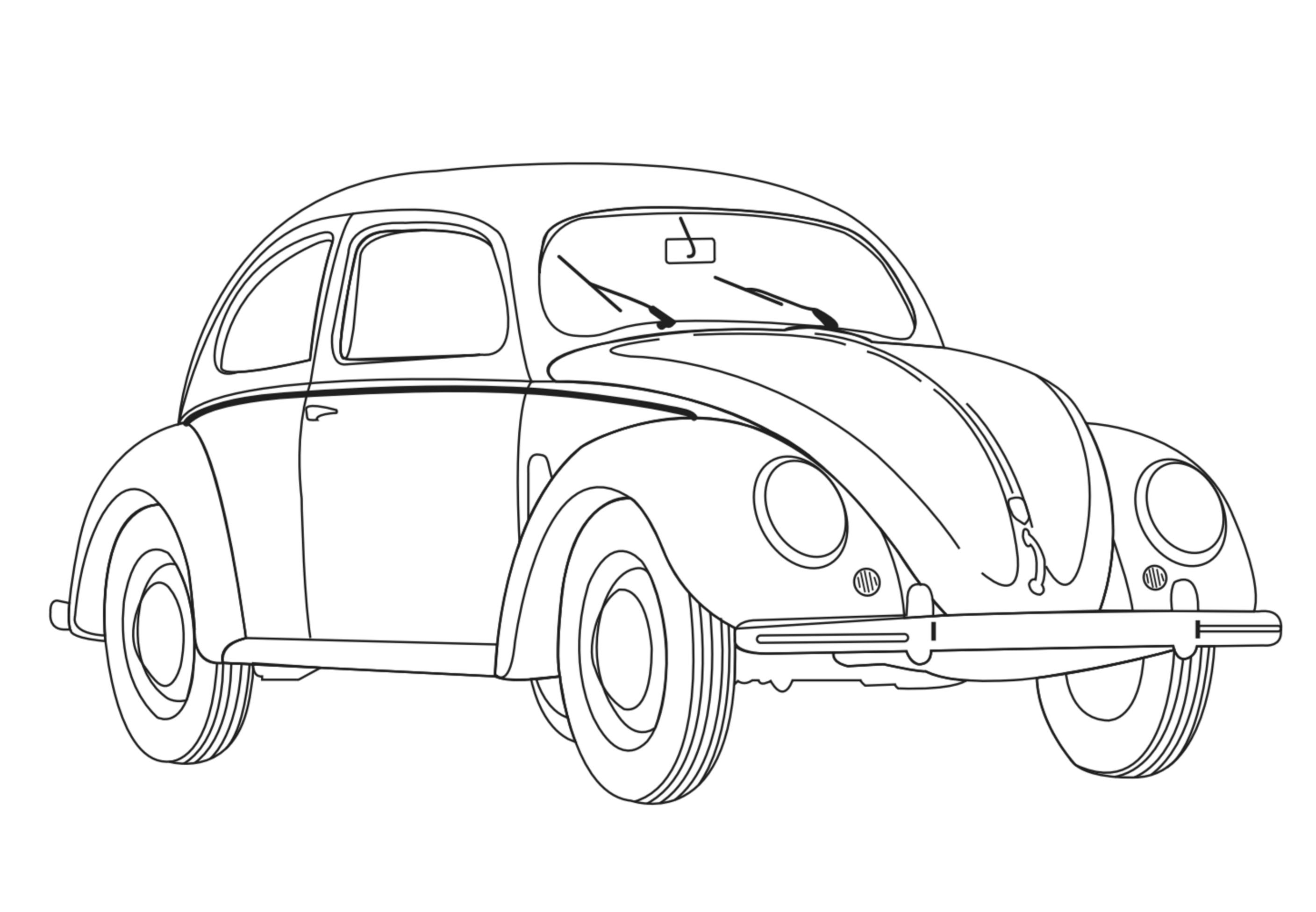 Car To Color For Kids - Car Kids Coloring Pages destiné Dessin À Colorier Cars