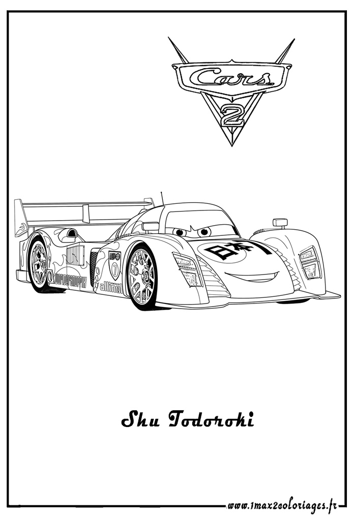 Cars 2 Free To Color For Kids - Cars 2 Kids Coloring Pages concernant Dessin À Colorier Cars