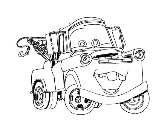 Cars To Color For Children - Cars Kids Coloring Pages dedans Dessin À Colorier Cars