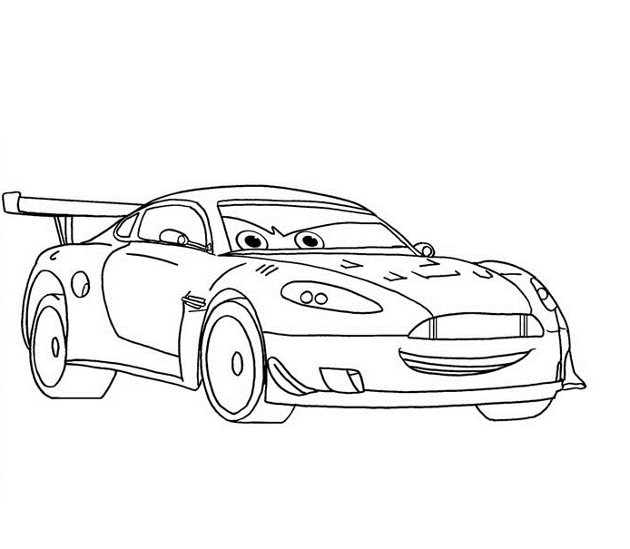 Coloriage Cars Et Cars 2 (Et Dessins De Flash Mc Queen avec Dessin À Colorier Cars