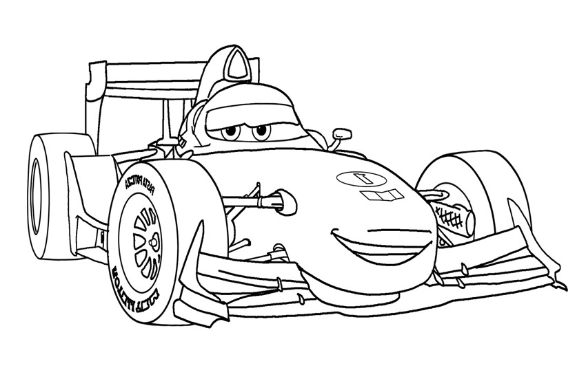 Coloriage Cars Et Cars 2 (Et Dessins De Flash Mc Queen concernant Dessin À Colorier Cars