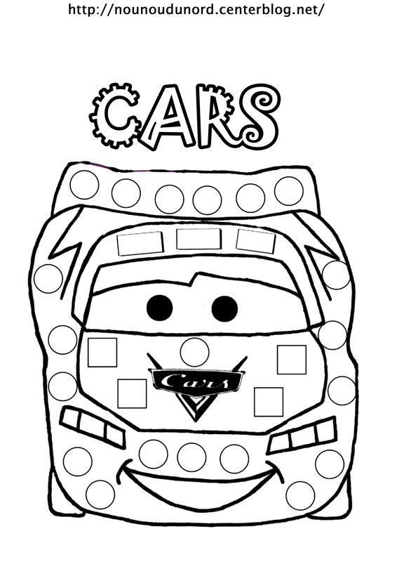 Coloriages Cars pour Dessin À Colorier Cars