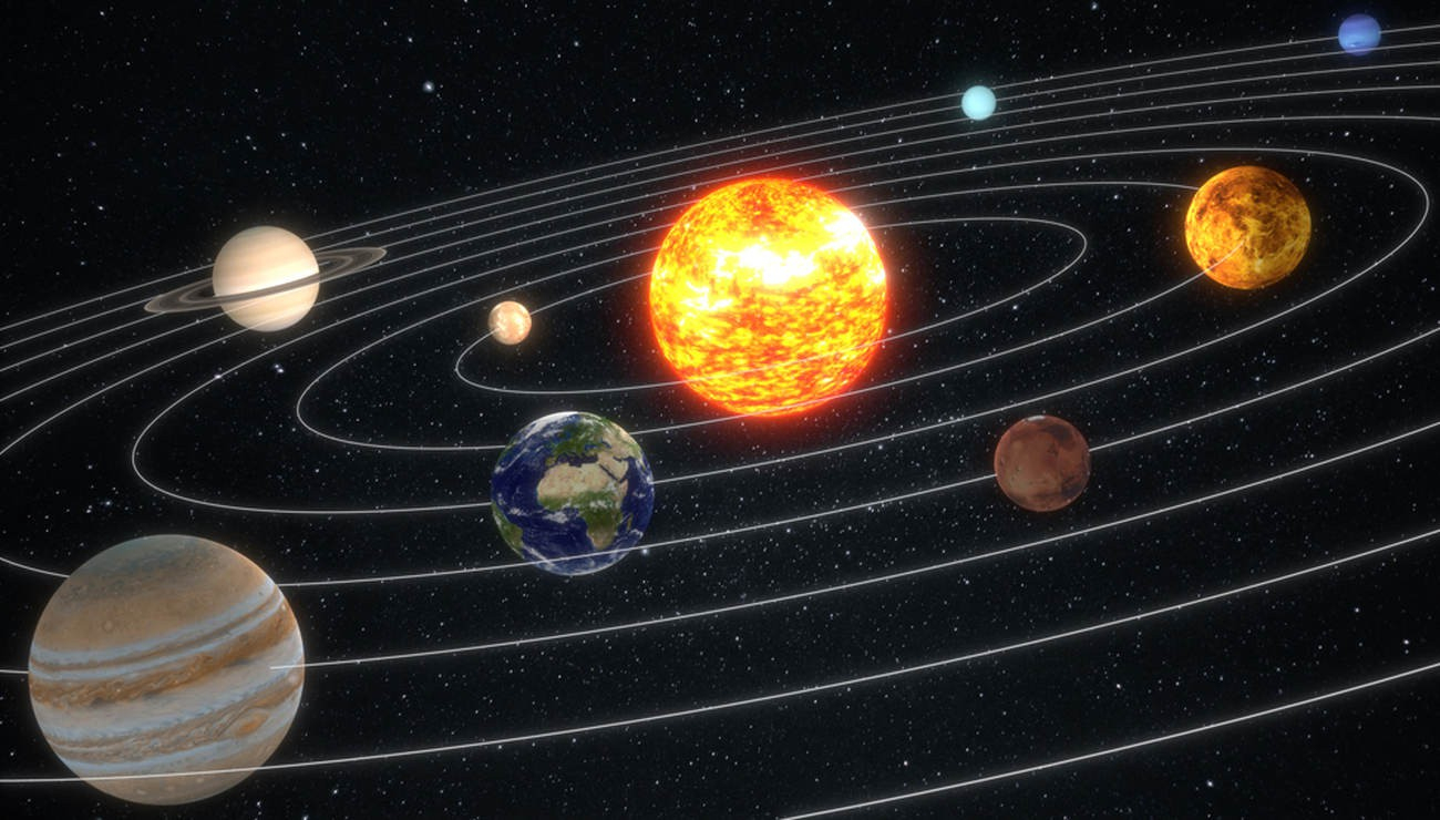 Des Sédiments Terrestres Éclairent L'histoire Du Système à Dessin Systeme Solaire