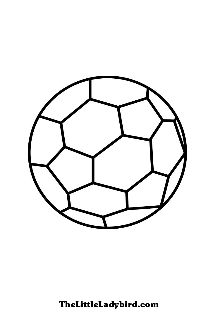 Dessin De Coloriage Football À Imprimer - Cp12127 intérieur Dessin De Foot A Imprimer