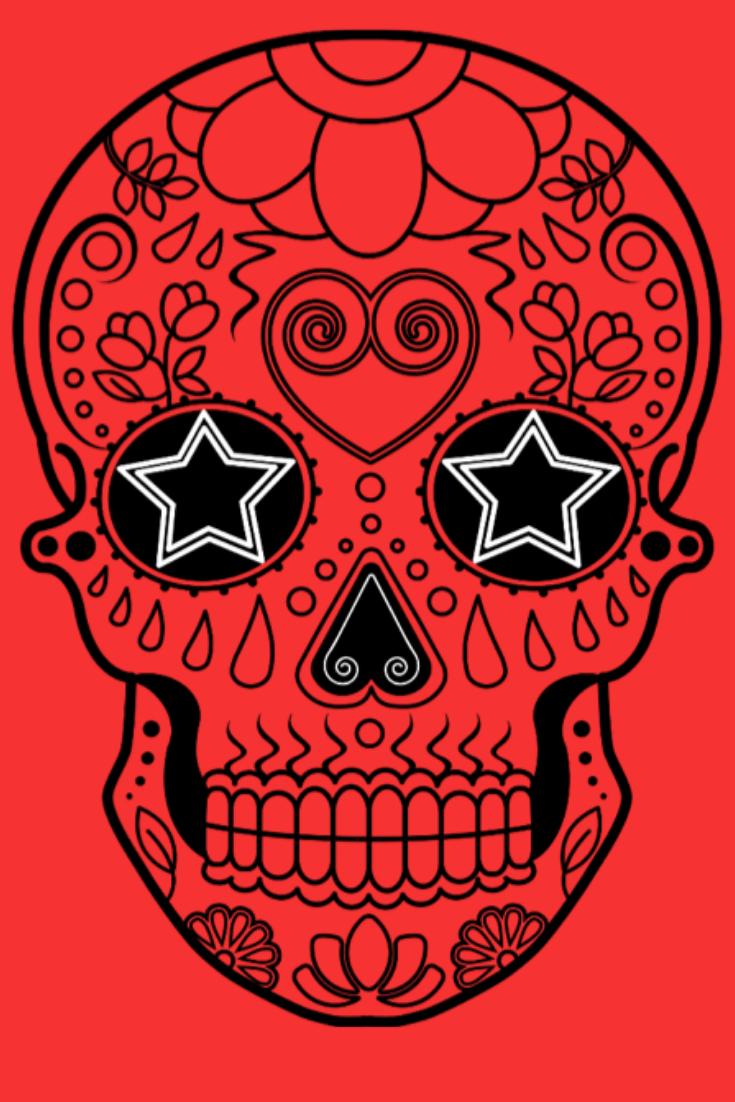Dessiner Un Crâne Mexicain | Dessin Crâne intérieur Crane Mexicain Dessin
