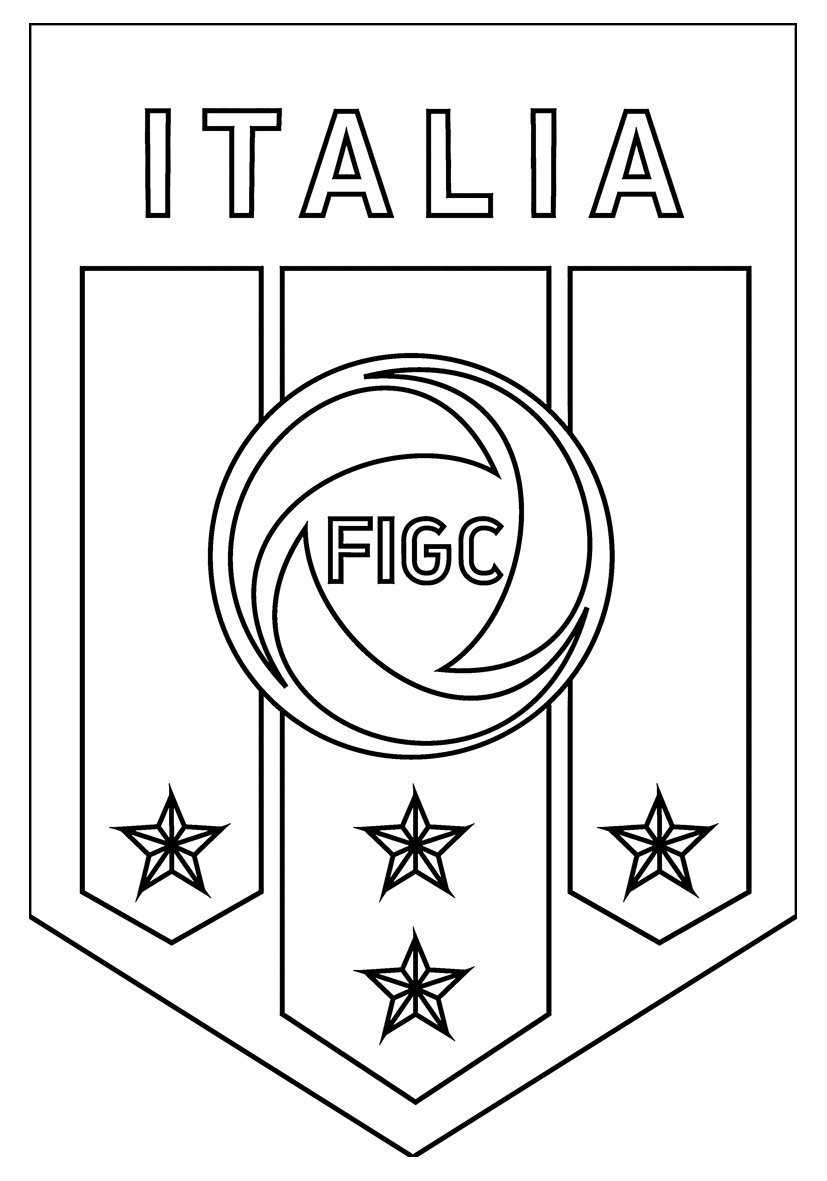 Dessins Gratuits À Colorier - Coloriage Logo De Foot À avec Dessin De Foot A Imprimer