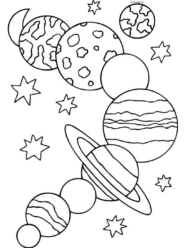 Épinglé Par Coraline Sur Activités Enfants | Pinterest intérieur Dessin Systeme Solaire