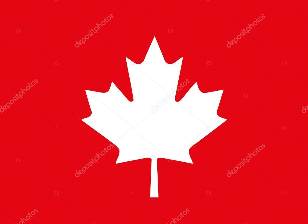 Feuille D'Érable, Érable Du Canada À Fond Rouge, Vecteur à Feuille D Érable Dessin