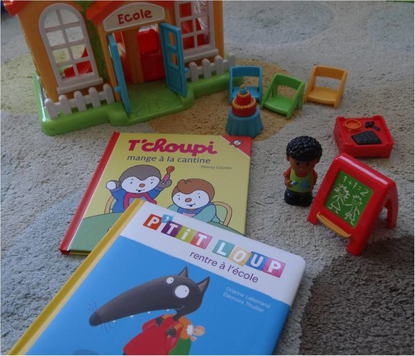 Lectures Pour Préparer La Rentrée ! - Lucky Sophie, Blog pour Tchoupi Al Ecole
