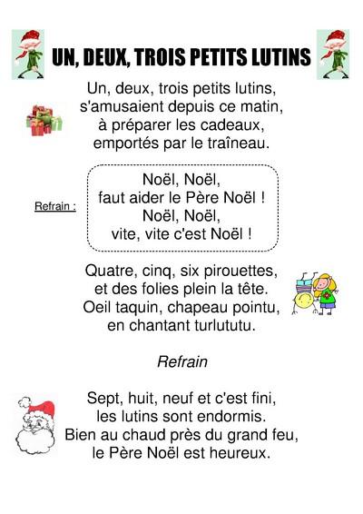 M. Boulinguez – École De Blaringhem à Paroles 3 Petits Chats