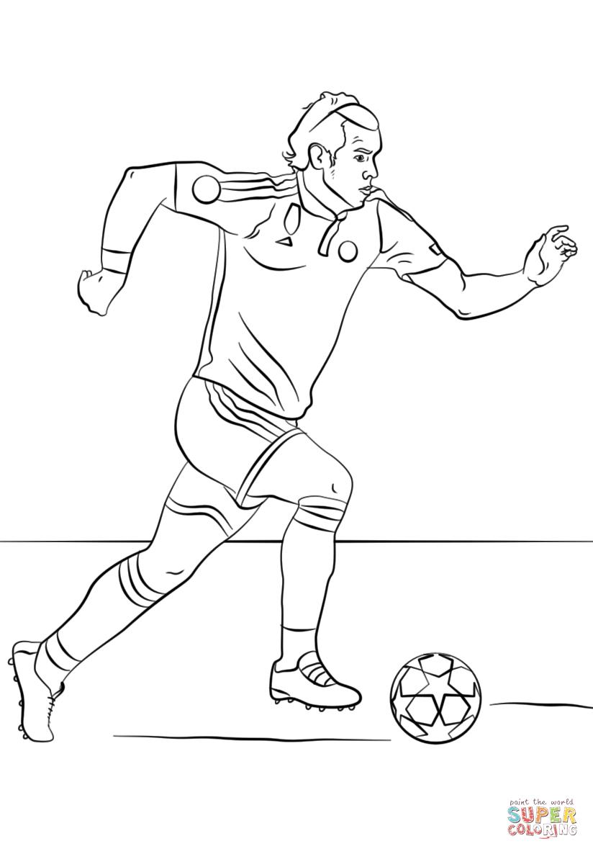 Pin Di Sport/Sports intérieur Dessin De Foot A Imprimer
