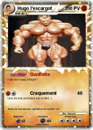 Pokémon Hugo L Escargot 1 1 - Gonflette - Ma Carte Pokémon pour Hugo L Escargo