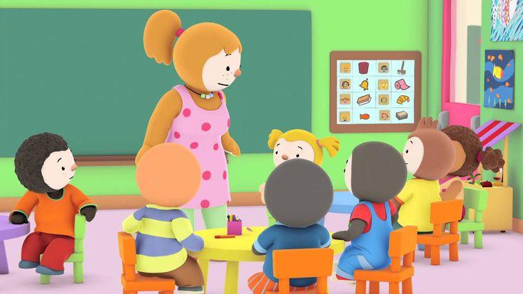 T'Choupi À L'École - De Petits Anges | Choupi, Tchoupi Et serapportantà Tchoupi Al Ecole