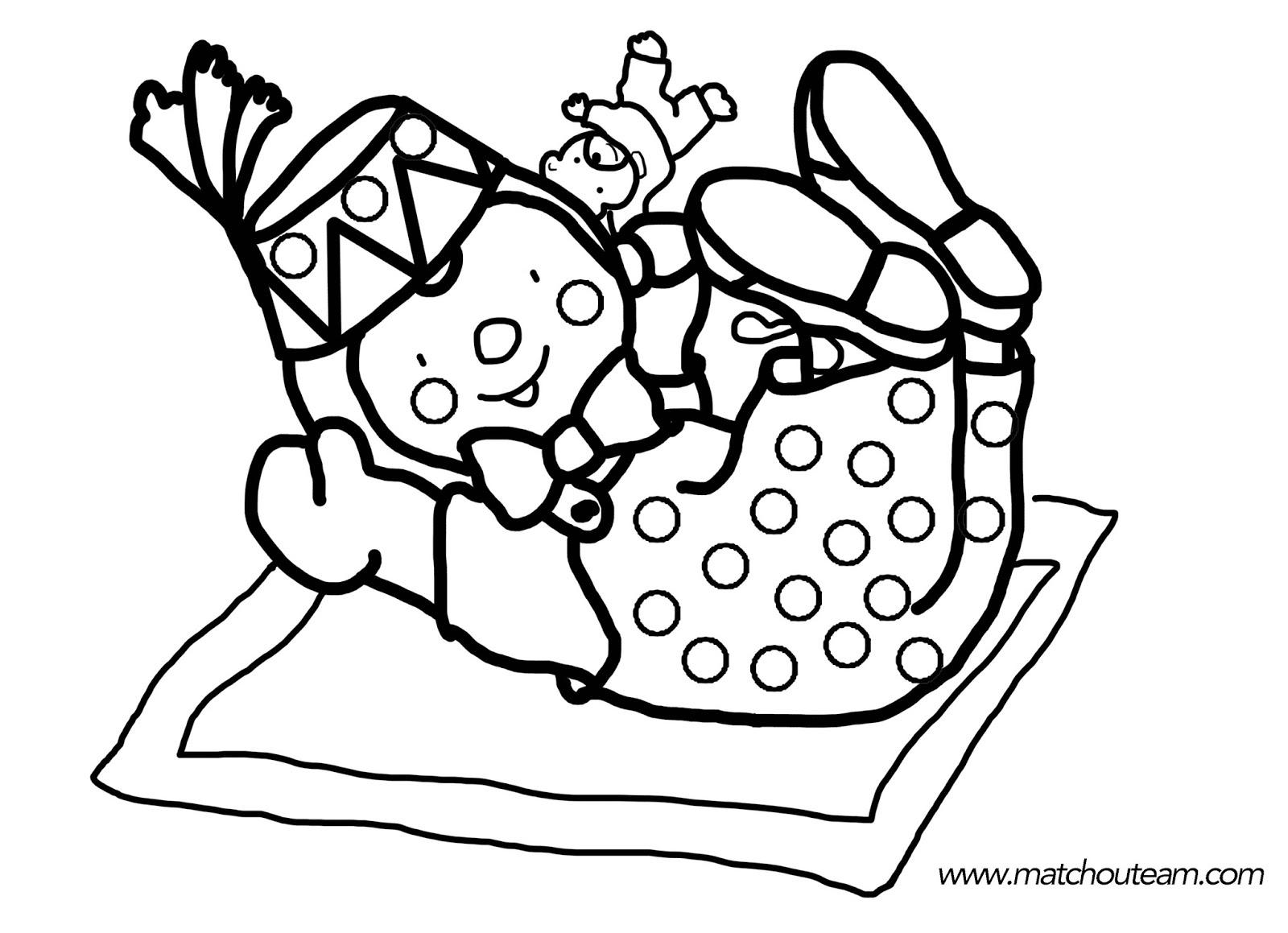 T'Choupi Et Doudou #18 (Dessins Animés) – Coloriages À destiné Tchoupi Al Ecole
