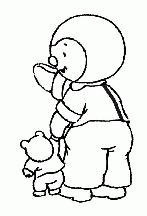 T'Choupi Et Doudou #57 (Dessins Animés) – Coloriages À serapportantà Tchoupi Al Ecole