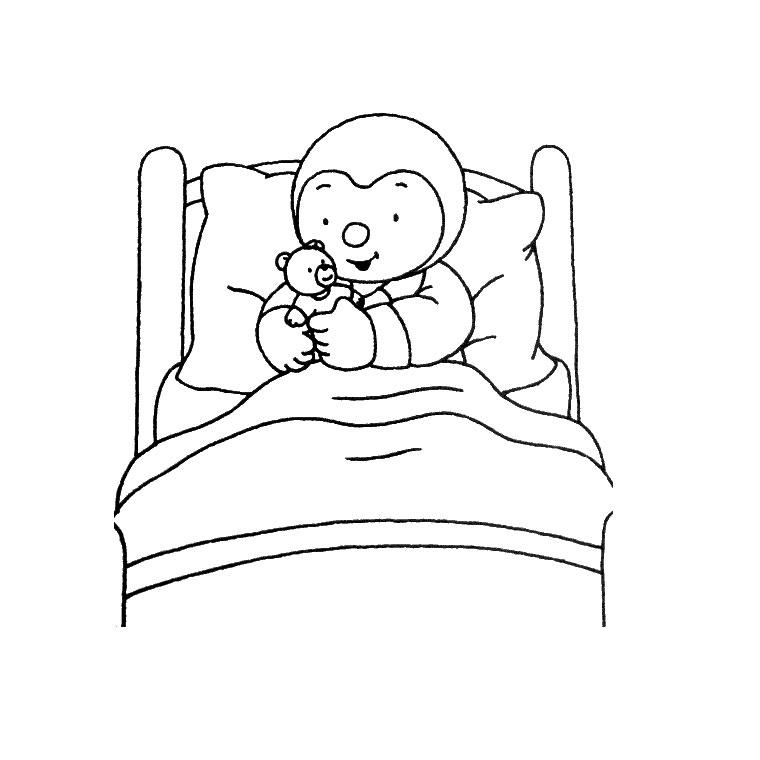 T'Choupi Et Doudou (Dessins Animés) – Coloriages À Imprimer encequiconcerne Tchoupi Al Ecole