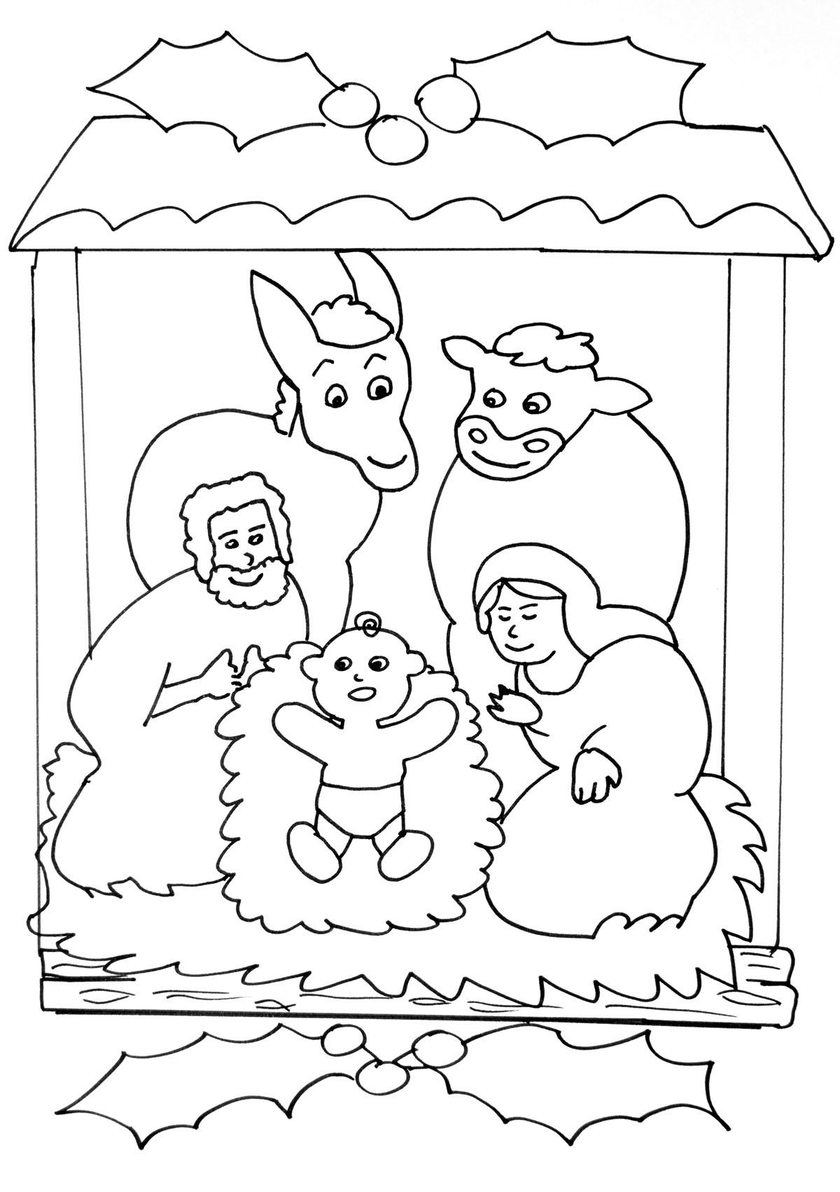 10 Coloriage Creche De Noel Gratuit A Imprimer | Haut avec Site De Coloriage À Imprimer