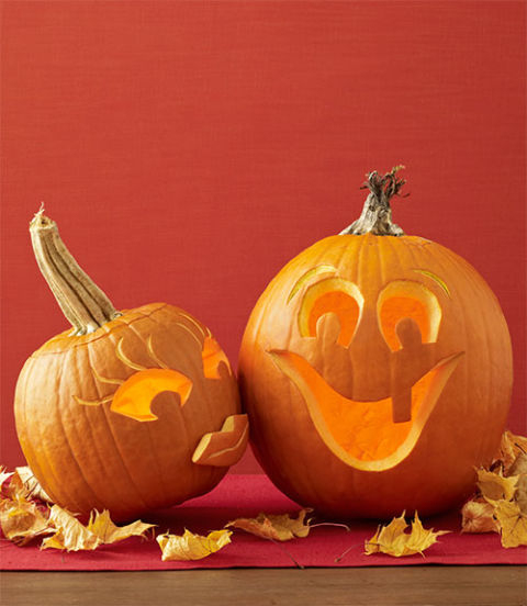 10 Creative Pumpkin Carving Ideas | Self-Explanatori | A pour Citrouille Monstre