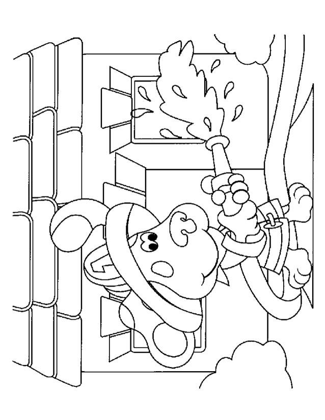 10 Dessins De Coloriage Pompier À Imprimer intérieur Dessin Sapeur Pompier