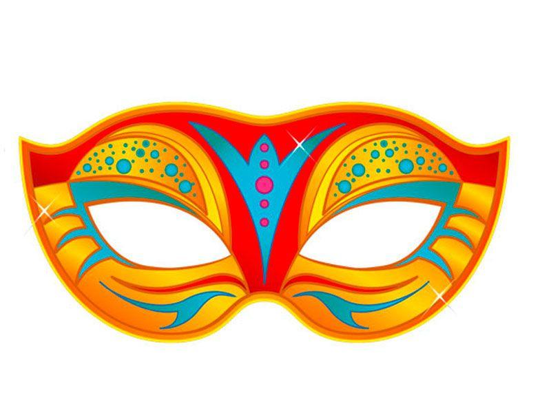 10 Masques À Imprimer Pour Le Carnaval (10) En 2020 destiné Masque Super Héros A Imprimer