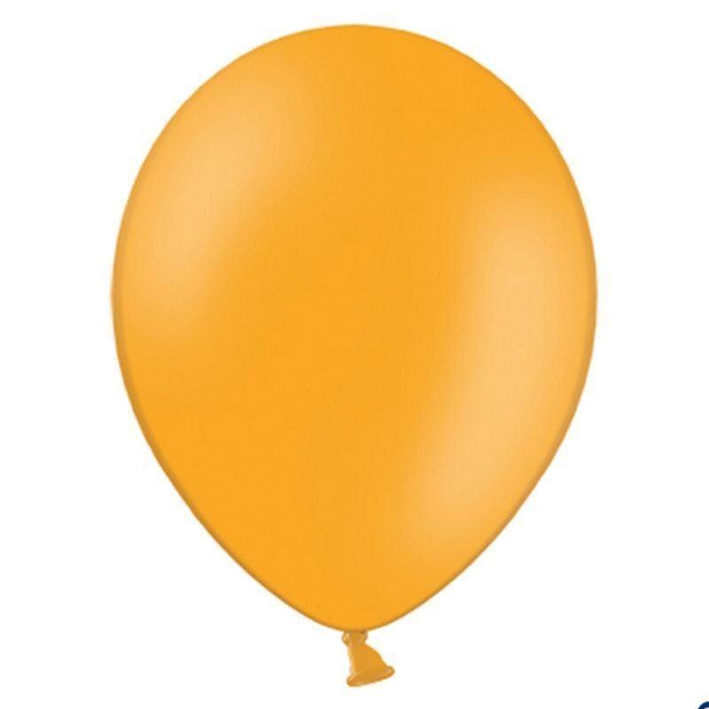 100 Ballons De Baudruche Orange 27 Cm - Dragées Anahita tout Dessin Ballon Baudruche