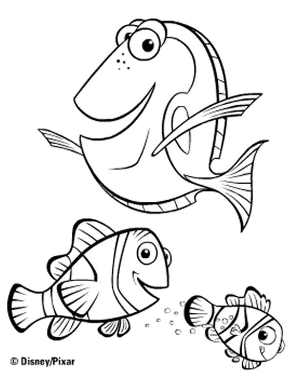 100 Dessins De Coloriage Nemo À Imprimer Sur Laguerche à Coloriage Nemo A Imprimer Gratuit