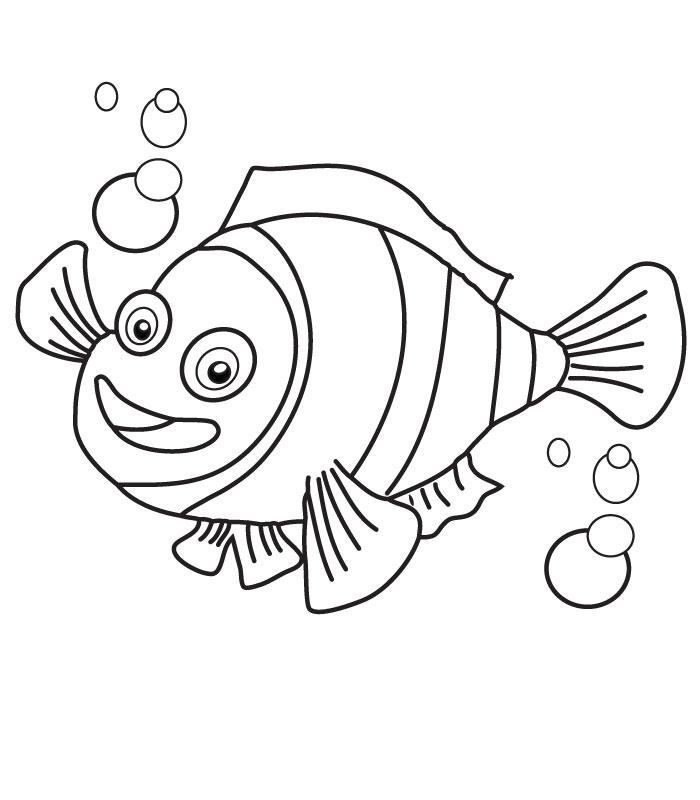 100 Dessins De Coloriage Nemo À Imprimer Sur Laguerche dedans Coloriage Nemo A Imprimer Gratuit
