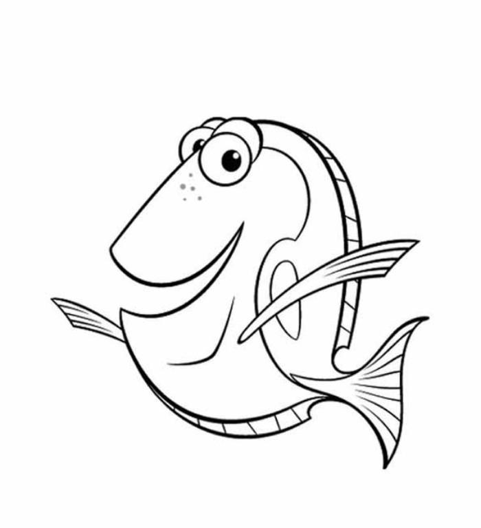 100 Dessins De Coloriage Nemo À Imprimer Sur Laguerche serapportantà Coloriage Nemo A Imprimer Gratuit