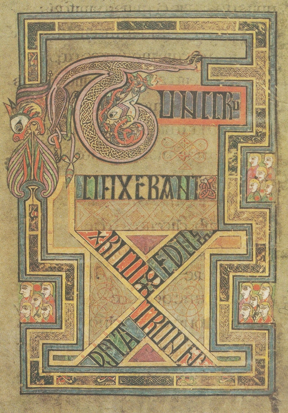 1000+ Images About Celtic Borders/Layouts On Pinterest tout Script In The Book Of Kells